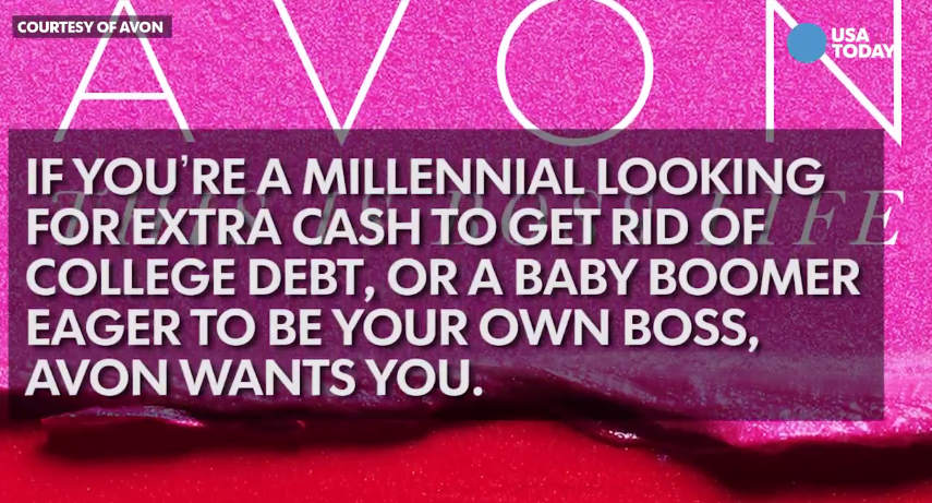 Millenials Suckered as Avon Rejuvenates