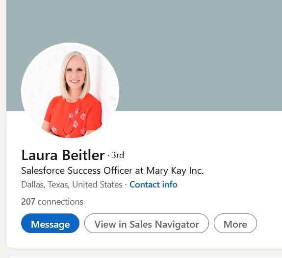 Laura Beiteler Mary Kay Inc.