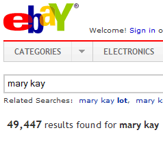 Does Mary Kay Know Their Products Aren't Being Sold?