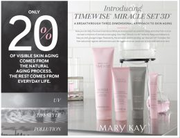 New Mary Kay Timewise Miracle Set 3D