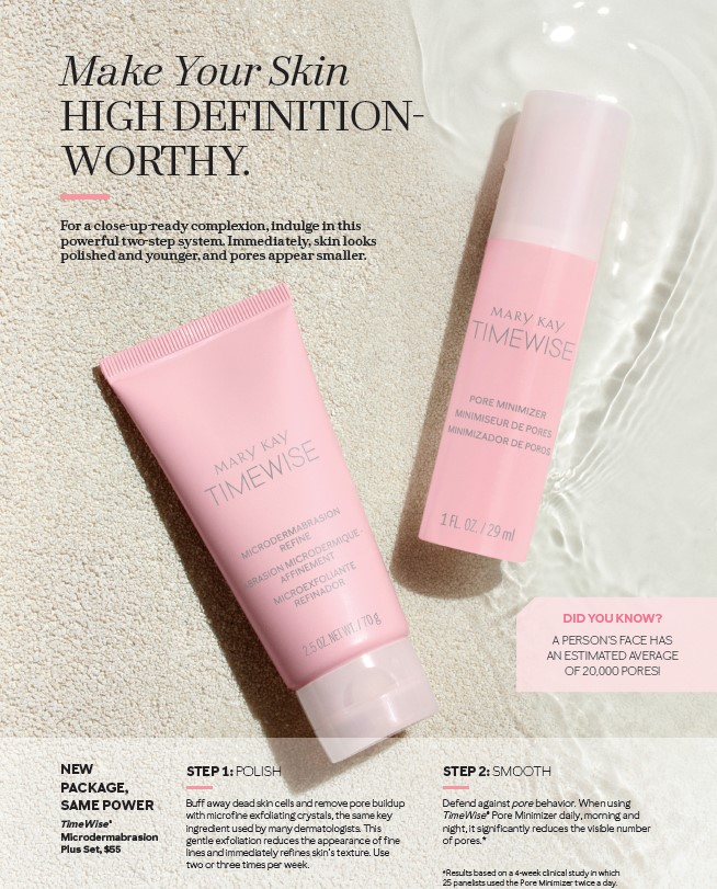 New Timewise Microdermabrasion Packaging Pink Truth