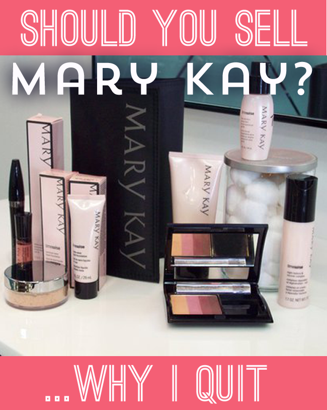 Another Mary Kay Sales Director in Denial